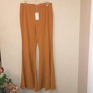 Mustard Bell Bottoms Size Large